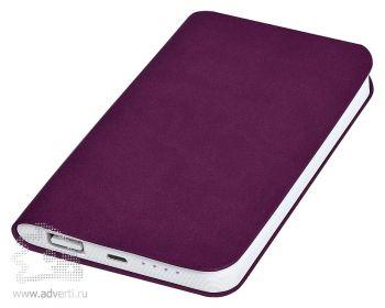 Универсальное зарядное устройство «Softi» 4000 mAh, фиолетовое