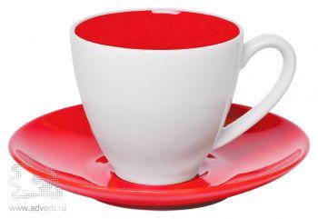 Чайная пара «Galena» в подарочной упаковке, красная