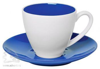 Чайная пара «Galena» в подарочной упаковке, синяя