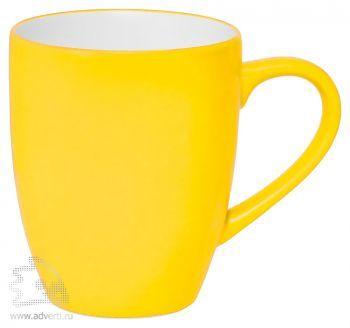 Кружка «Milar», желтая
