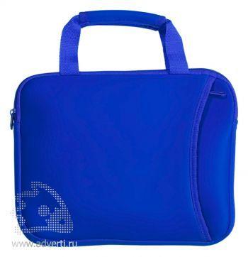 Компактная сумка для ноутбука, синяя