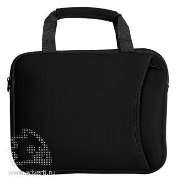 Компактная сумка для ноутбука, черная