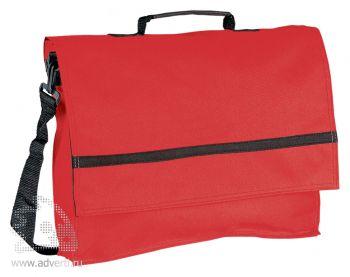 Конференц-сумка «Forum», красная