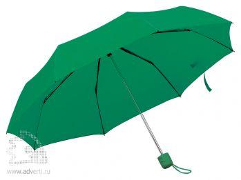 Зонт складной «Foldi», механический, зеленый