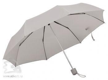 Зонт складной «Foldi», механический, серый