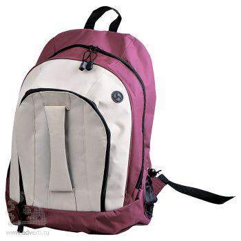 Рюкзак «Adventure», бордовый