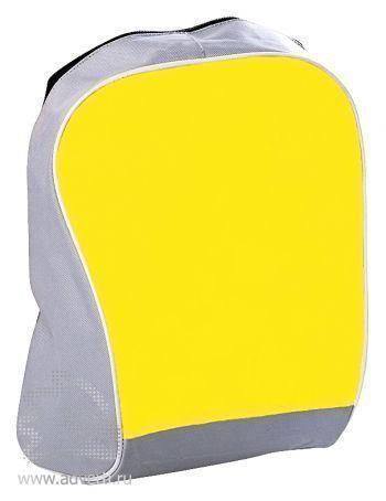 Промо-рюкзак «Fun» с одним отделением, желтый
