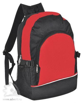 Практичный рюкзак, красный