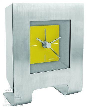 Часы настольные «Дизайн», желтые