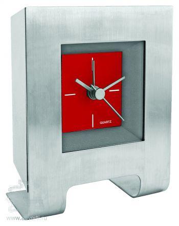 Часы настольные «Дизайн», красные