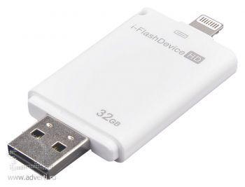 Внешний накопитель для iOS-устройств «i-FlashDevice HD» на 32 Гб