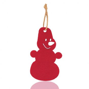 Елочная игрушка «Снеговик»