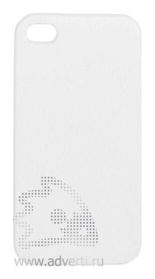 Чехлы для iPhone 4/4s, белые, глянцевые