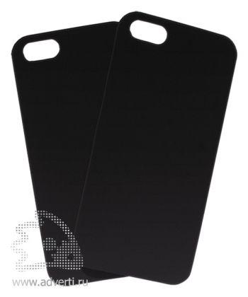 Чехлы для iPhone 5/5s, черные, soft touch