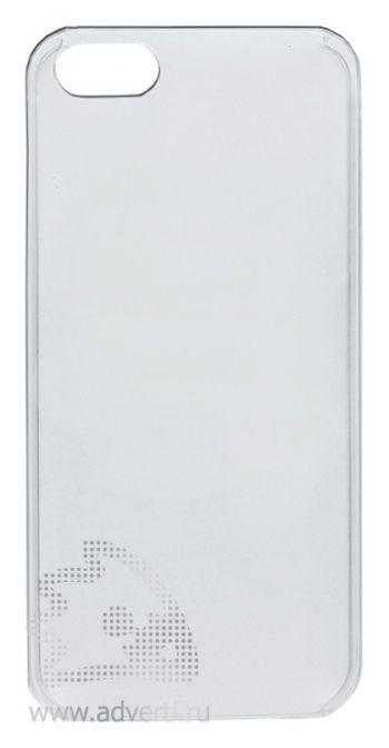 Чехлы для iPhone 5/5s, прозрачные, глянцевые