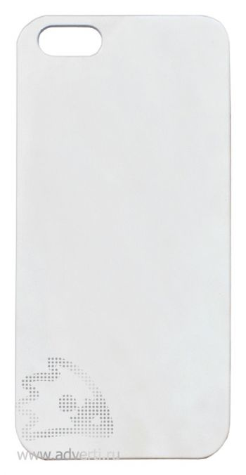 Чехлы для iPhone 5/5s, белые, soft touch