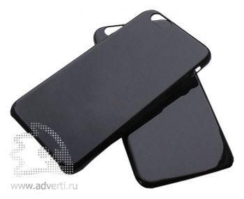 Чехлы для iPhone 6/6s, черные глянцевые