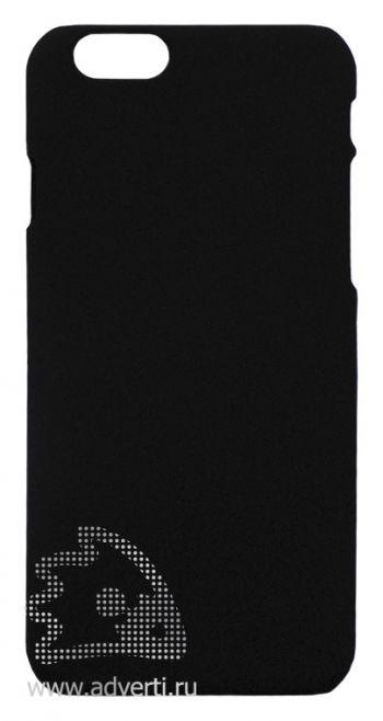 Чехлы для iPhone 6/6s, черные, soft touch