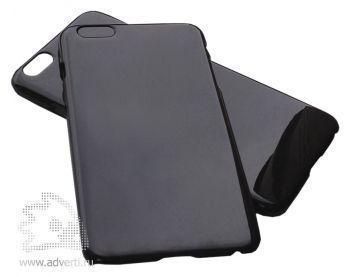 Чехлы для iPhone 6 plus/6s plus, черные, глянцевые