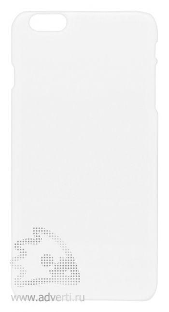 Чехлы для iPhone 6 plus/6s plus, белые, глянцевые