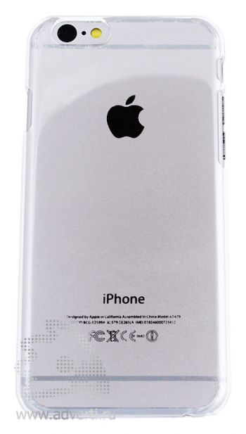 Чехлы для iPhone 6/6s, прозрачные, глянцевые