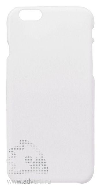Чехлы для iPhone 6/6s, белые, soft touch