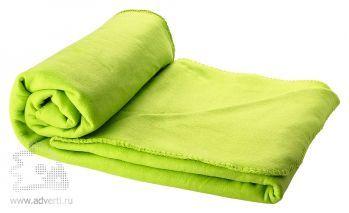 Плед в чехле «Huggy», светло-зеленый
