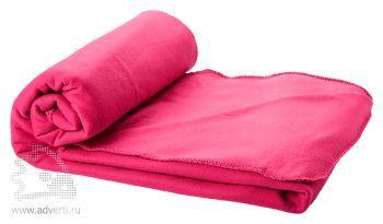 Плед в чехле «Huggy», розовый