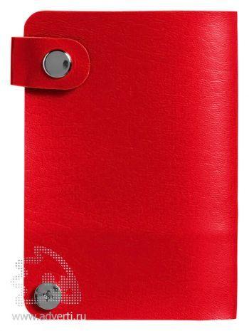 Бумажник «Valencia», красный