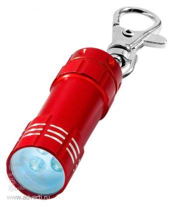 Брелок-фонарик «Astro», красный
