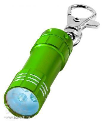 Брелок-фонарик «Astro», зеленый