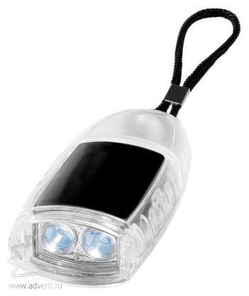 Брелок-фонарик «Flipster», черный