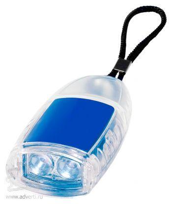 Брелок-фонарик «Flipster», синий