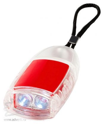 Брелок-фонарик «Flipster», красный
