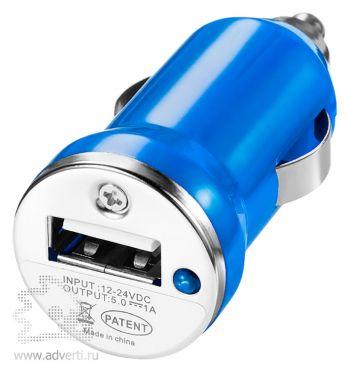 Адаптер автомобильный «Casco», синий