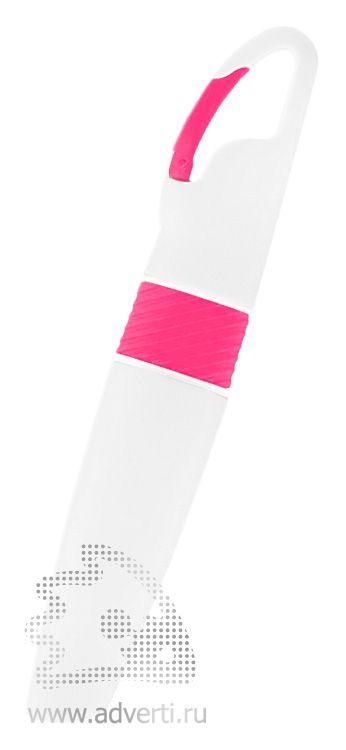 Маркер «Picasso» с карабином, розовый