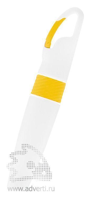 Маркер «Picasso» с карабином, желтый