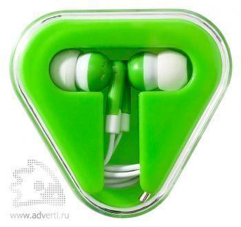 Наушники «Rebel», зеленые