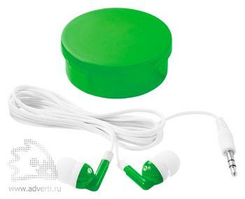 Наушники «Versa», зеленые