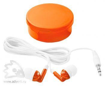 Наушники «Versa», оранжевые