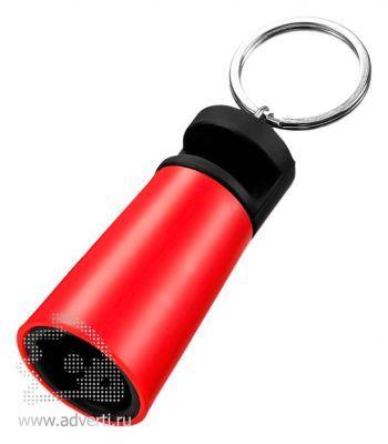 Усилитель-подставка для смартфона «Sonic», красный
