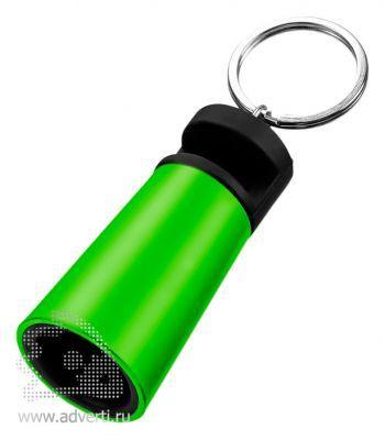 Усилитель-подставка для смартфона «Sonic», зеленый