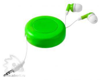 Наушники «Reely», зеленые