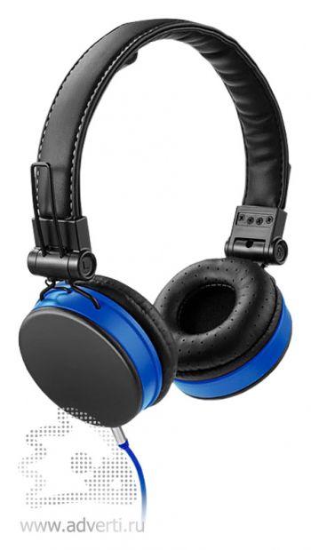 Наушники «Raver», синие с черным