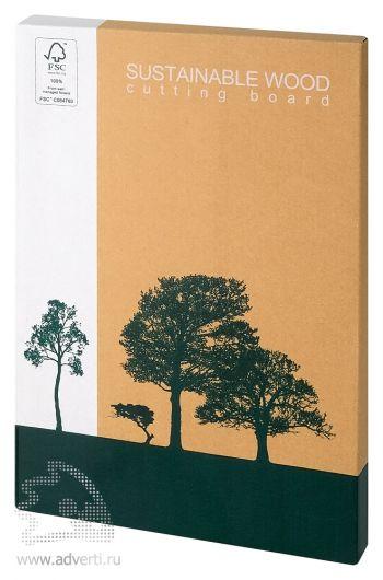 Доска разделочная «Дерево», упаковка