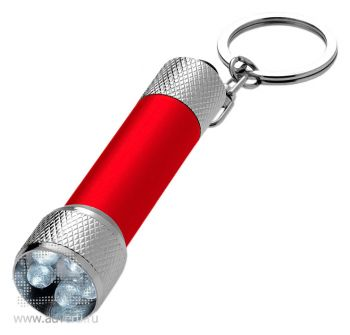 Брелок-фонарик «Draco», красный