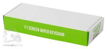 Брелок «Helper» с салфеткой для экрана «F1», упаковка