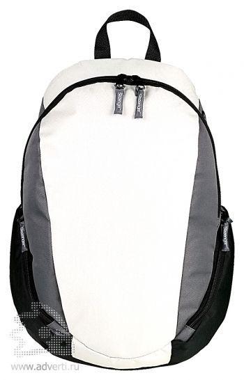 Рюкзак «Slazenger» с противоударным отделением для ноутбука, белый