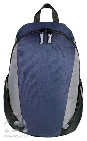 Рюкзак «Slazenger» с противоударным отделением для ноутбука, темно-синий