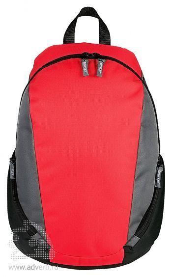 Рюкзак «Slazenger» с противоударным отделением для ноутбука, красный